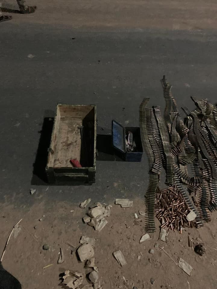 Troops repel Boko Haram attack in Damaturu, recover sophisticated arms (photos)