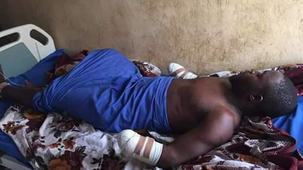 Photos: Governor Tambuwal sympathises with student whose two hands were chopped off by motorcycle thieves