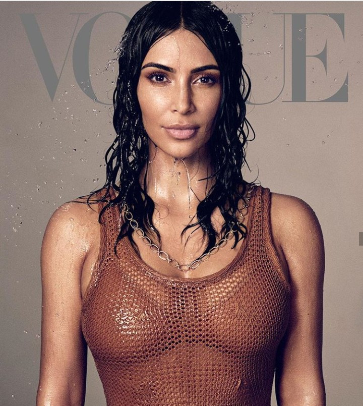 Kim Kardashian rejoices as she gets her first solo Vogue US cover