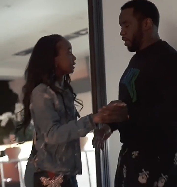 This video of Diddy teaching one of his daughters to dance will make you smile