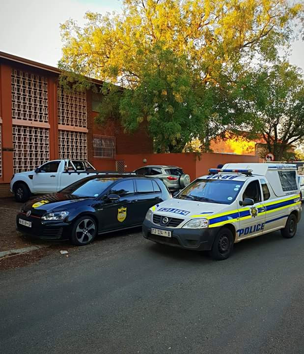 Photos: Man arrested after he was caught selling drugs to school children in South Africa