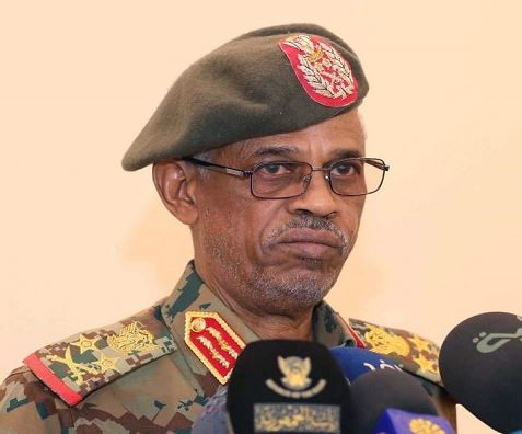 Military leader,?Awad Ibn Auf who led the coup in Sudan has stepped?down
