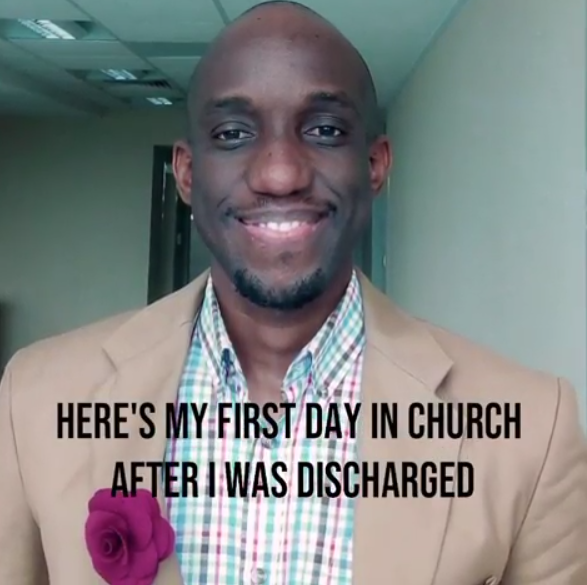 Singer, Obiwon, testifies of how God rescued him from a sickness that almost claimed his life
