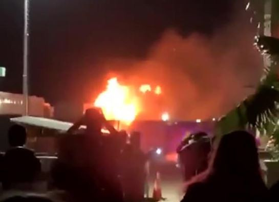 Fire breaks?out at Coachella music festival in?California