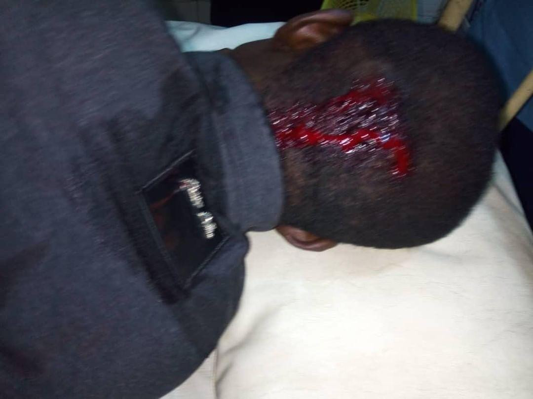 Graphic: SARS officers allegedly kill lady, leaves her boyfriend unconscious in Lagos