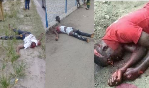 Graphic: At least three people beheaded during a cult clash today in Ajah, Lagos