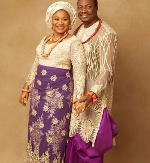 Veteran comedian, Ali Baba and wife celebrate 13th wedding anniversary with new photos