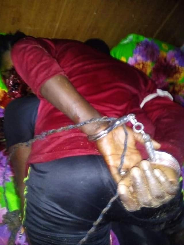 Graphic: Bayelsa man shoots his girlfriend dead over cheating allegation