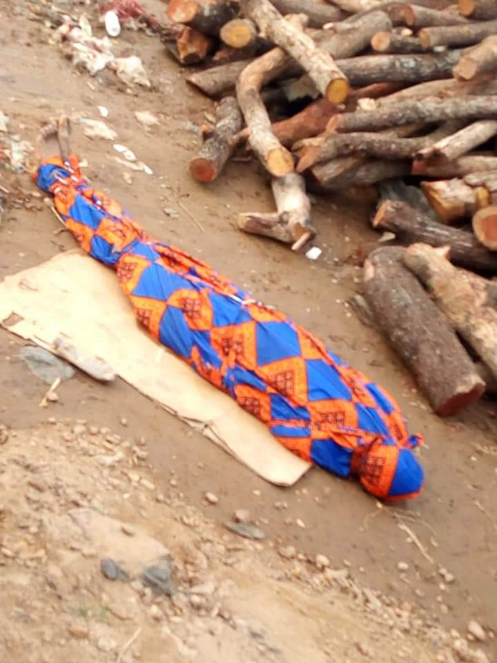 Drowned Benue State University student Kole Christopher buried at the river bank in order to