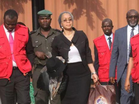 EFCC arrests Justice Ofili-Ajumogobia moments after judge struck out corruption charges against her