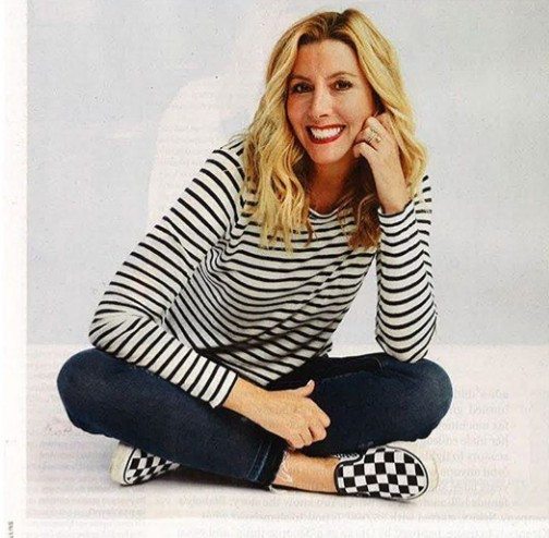 Self-made billionaire business woman, Sarah Blakely reveals the best advice her father gave her about life and marriage