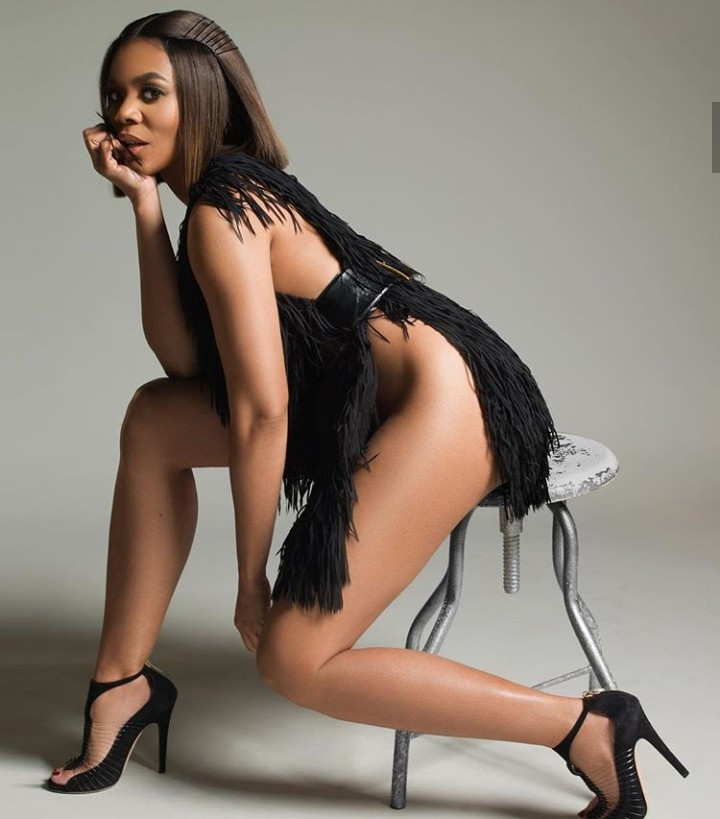 Regina Hall leaves little to the imagination as she goes undewear-free while posing in barely-there dress