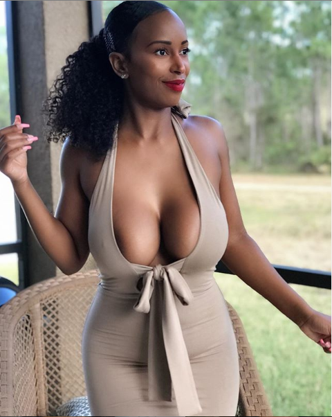 Meet this hot IG model with jaw-dropping boobs causing a stir online? (Photos)