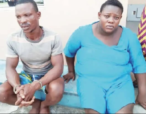 Man, wife arrested for killing their son over allegations he is a wizard (photo)