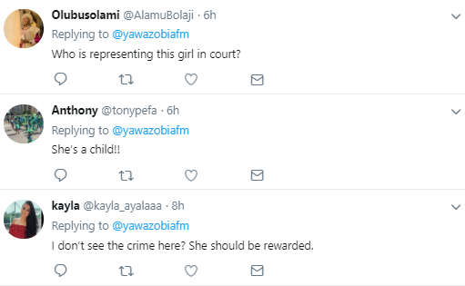 Prof Ikechi Mgbeoji and other Nigerians demand the release of 15-year-old arrested for poisoning her husband