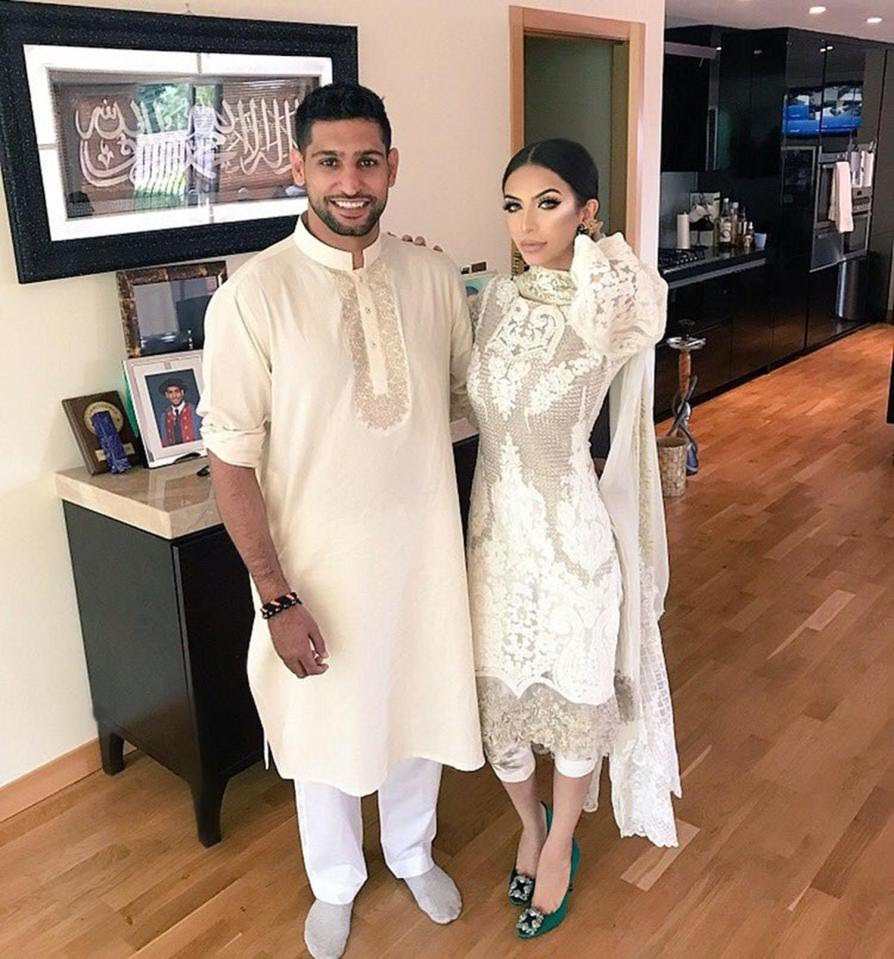 Amir Khan explains why he accused his wife of cheating on him with Anthony Joshua