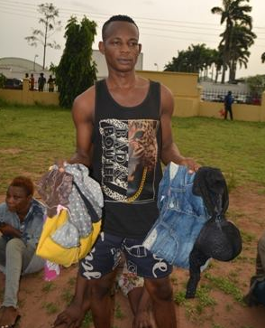 Photos: Imo police arrest cultist who lures female job seekers, rapes them and takes their nude photos