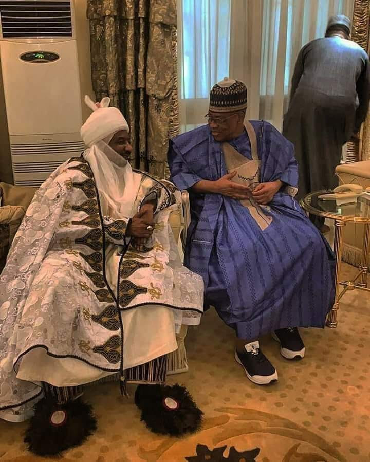 See the footwear Emir of Kano wore that has got everyone talking (photo)