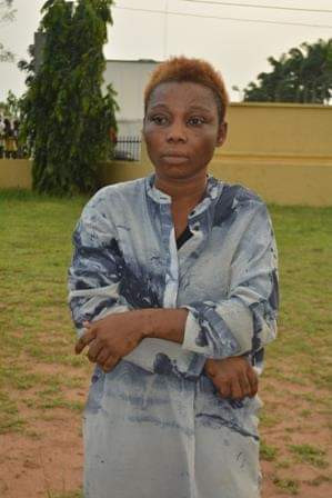 Photo: Police arrest 23-year-old commercial sex worker-armed robbery suspect in in Imo