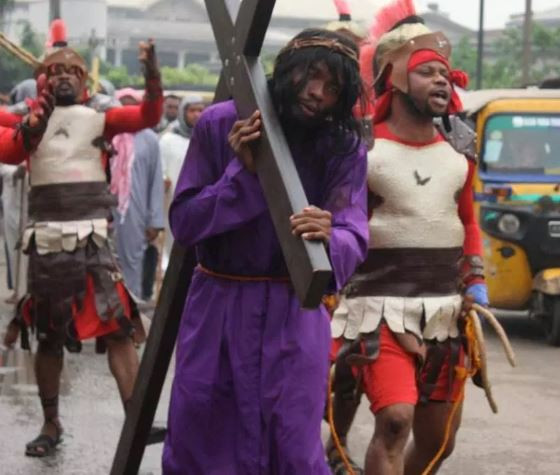 Two security officers beaten to death after their vehicle rammed into an Easter procession in Gombe State killing 8 people