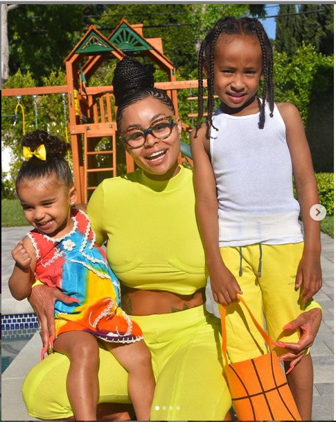 Adorable photos of Blac Chyna and her children, King Cairo and Dream Kardashian?