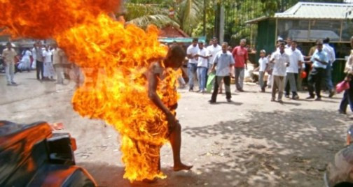 Man sets self ablaze in Ebonyi