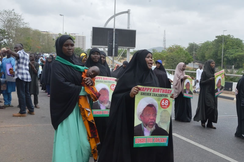 Photos: Shiites stage protest in Abuja, demand release of leader
