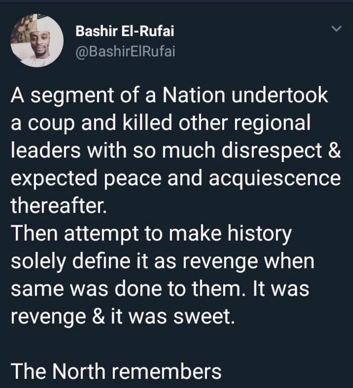 Bashir El Rufai apologises for describing the