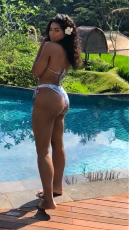 Regina Askia shares lovely photos of her look-alike daughter holidaying in Bali