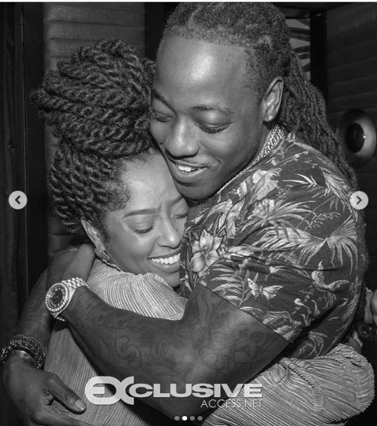 Rapper, Ace Hood proposes to long-time girlfriend Shelah Marie (Photos)