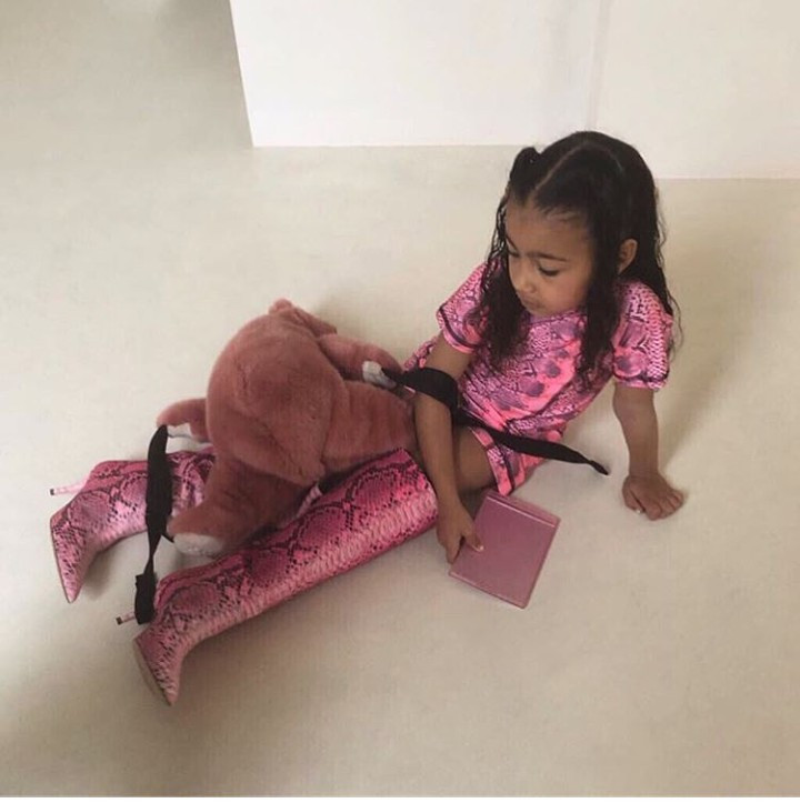 North West throws a fit because she wasn