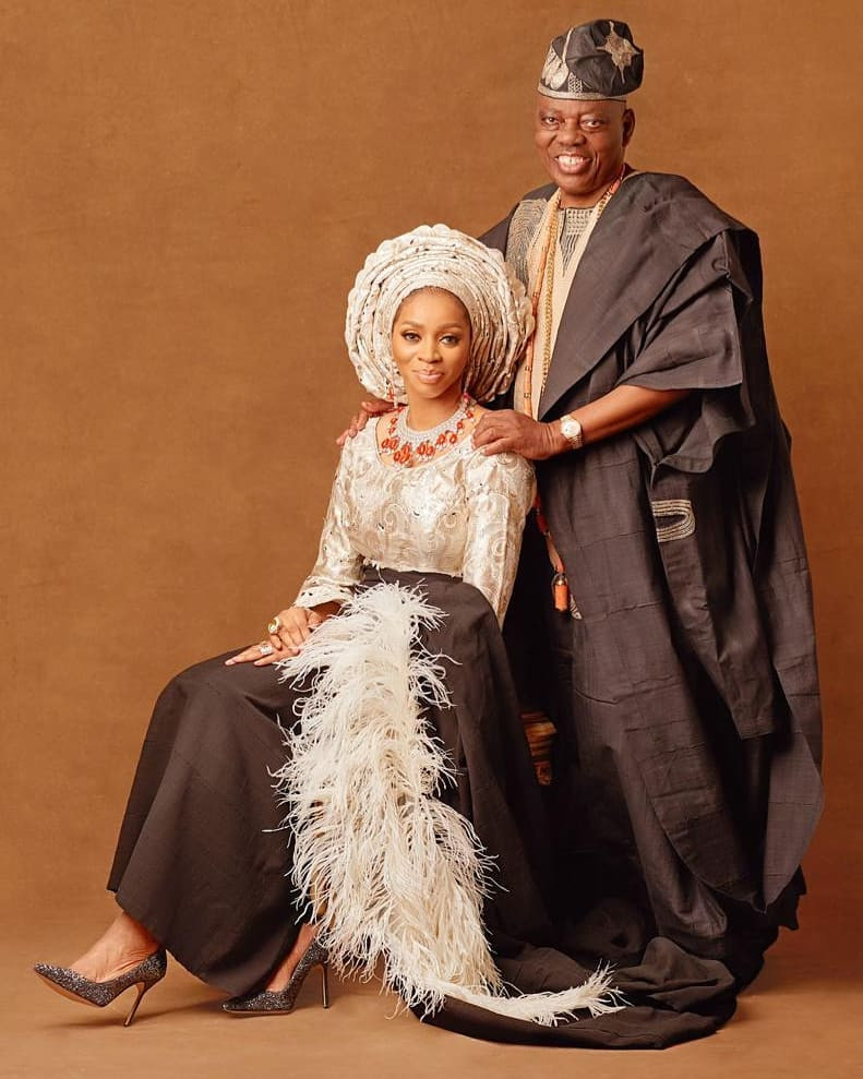 Billionaire businessman, Rasaq Okoya and wife, Shade, celebrate 20th wedding anniversary with stunning new photos