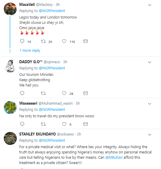 Here is how Nigerians are reacting to President Buhari
