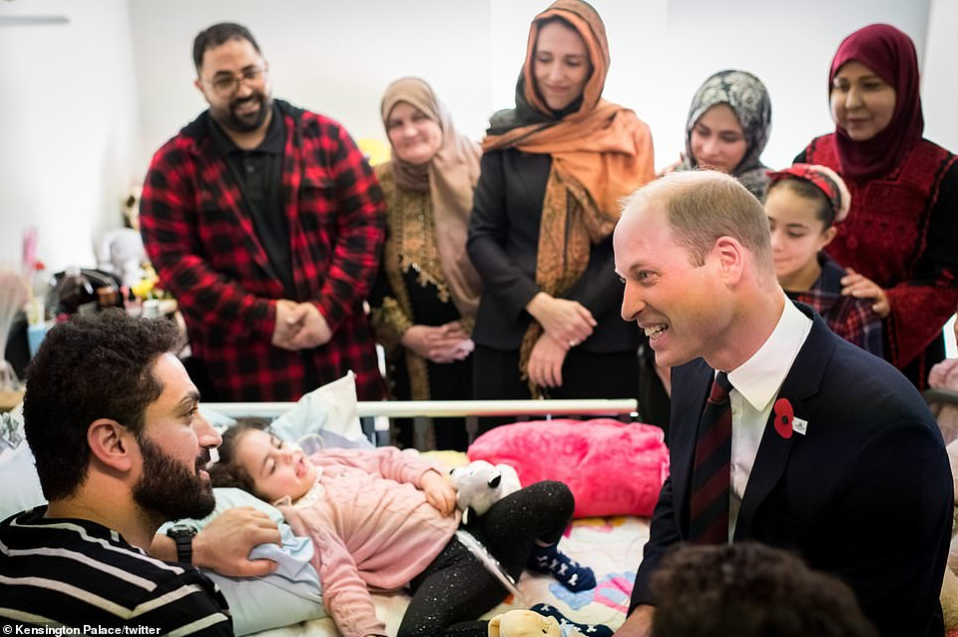 """Do you have a daughter"" New Zealand terror attack victim, 5, asks Prince William after she woke from coma (video)"