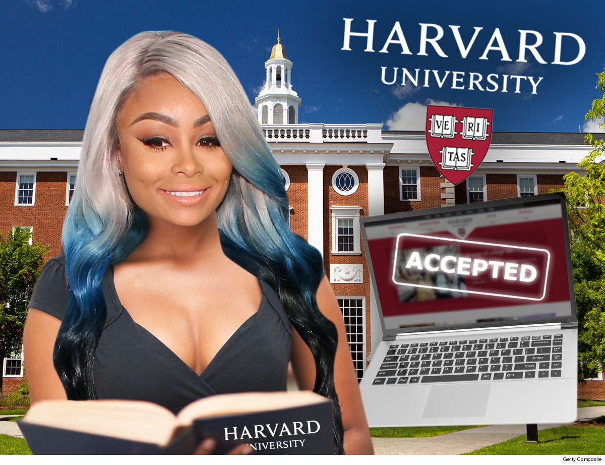 Blac Chyna admitted into Harvard Business School to study Business Analytics