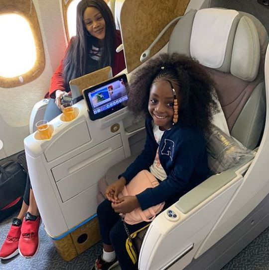 Photos: Timi Dakolo and his family jet out to Dubai for vacation