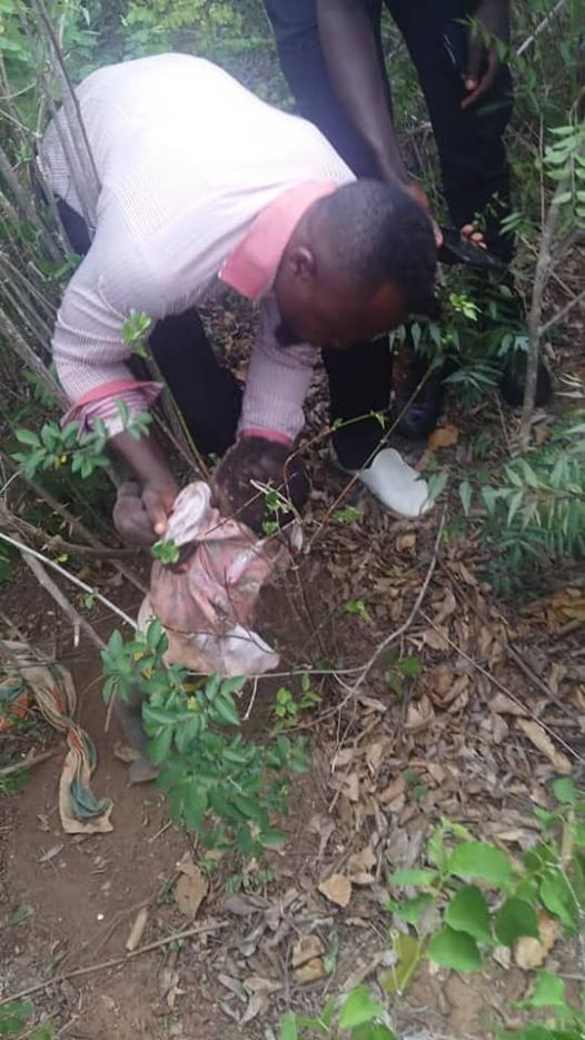 Photos: 10-month-old baby girl rescued in Ghana after being buried alive by her mother