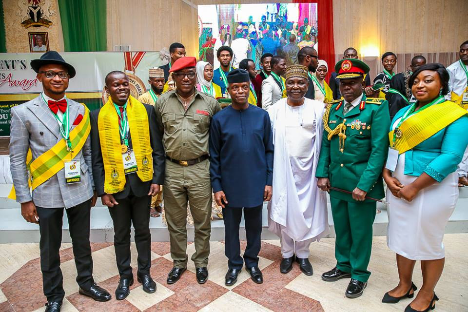 President Buhari offers employment, scholarships to 168 ex-corps members