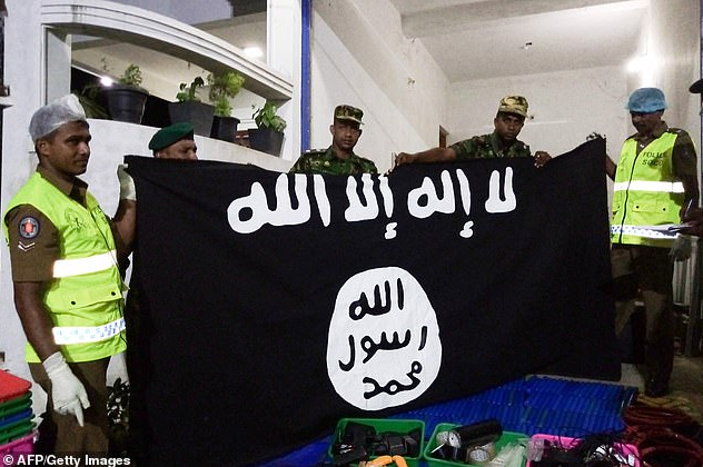 6 children and 9 others dead as Sri Lankan troops raid ISIS suicide vest factory following Easter Sunday attacks