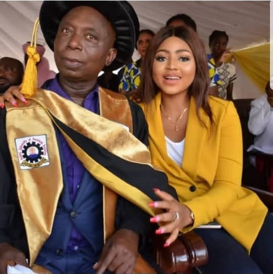 Check out cosy photo of Regina Daniels and her alleged husband Ned Nwoko