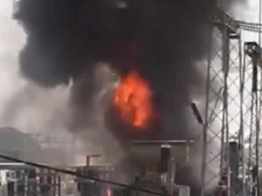 Fire breaks out at power transmission station in Abuja