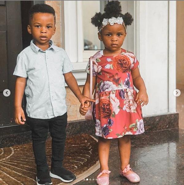 Adorable new photos of Paul and Anita Okoye