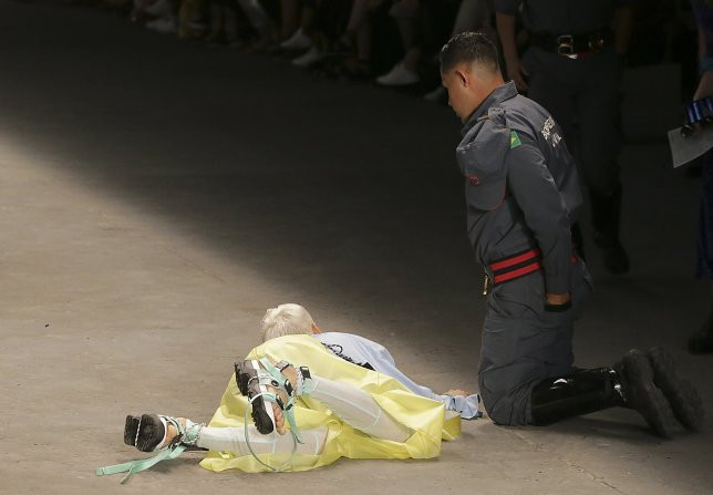 Fashion model dies after collapsing on runway in Brazil (Photos)