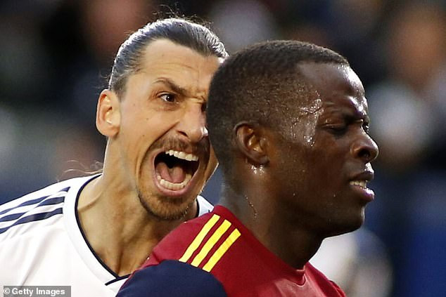 Nigerian footballer, Nedum Onuoha refuses apology from Zlatan Ibrahimovic for clashing with him on the field (Video)