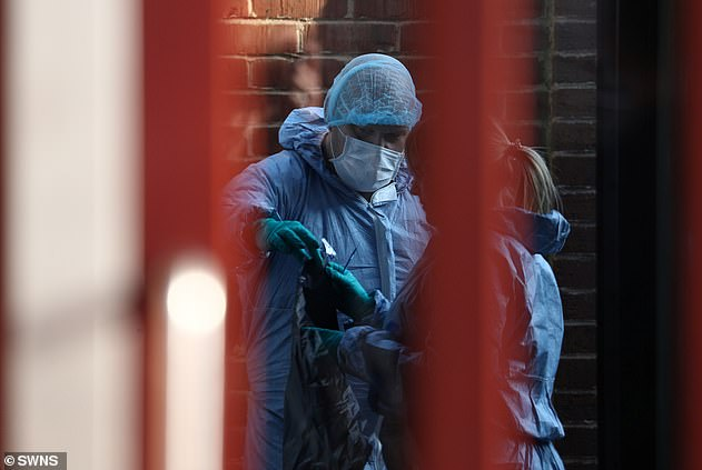 Police begins investigation as the bodies of two women are found in a freezer at sex offender