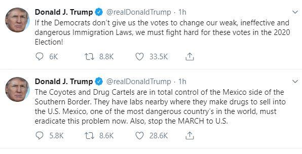 President Trump describes Mexico as one of the