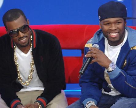 50 Cent mocks Kanye