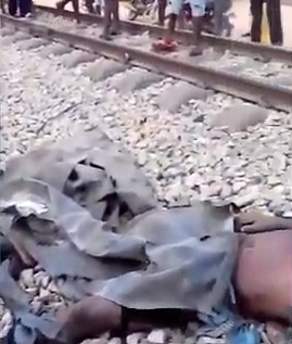Train crushes five to death in Lagos (graphic photos)