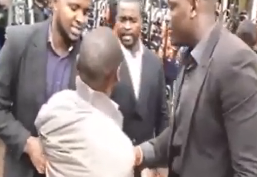 Drama as wife storms church in Kenya to stop the wedding of her husband to another woman