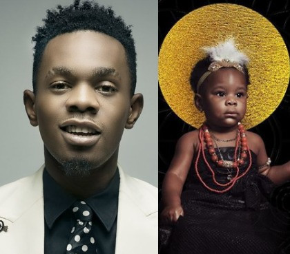 Patoranking finally shares photo of his daughter, Wilmer